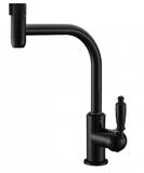 Комбинированный смеситель ZorG Sanitary ZR 323 YF-33 BLACK CLEAN WATER