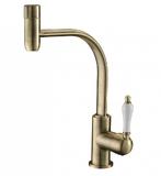 Комбинированный смеситель ZorG Sanitary ZR 324 YF-50 BR CLEAN WATER