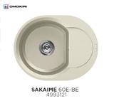 Кухонная мойка OMOIKIRI Sakaime 60E Ваниль