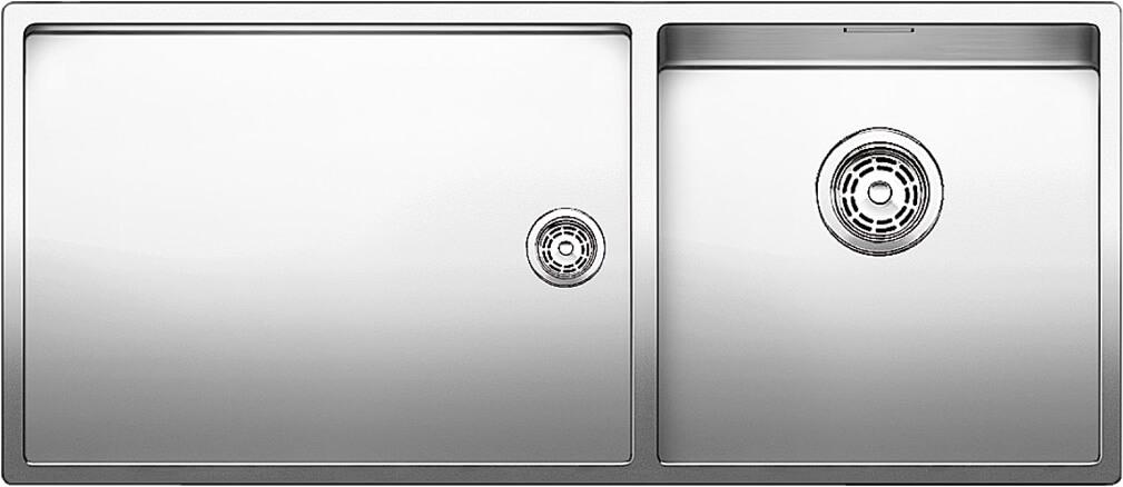 Кухонная мойка BLANCO CLARON 400/550-T-IF