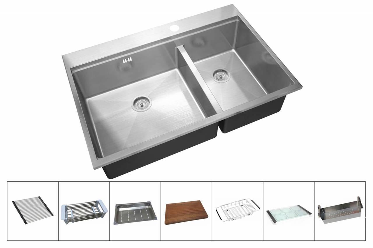 Кухонная мойка Zorg Master ZM R-5278-L DIXI