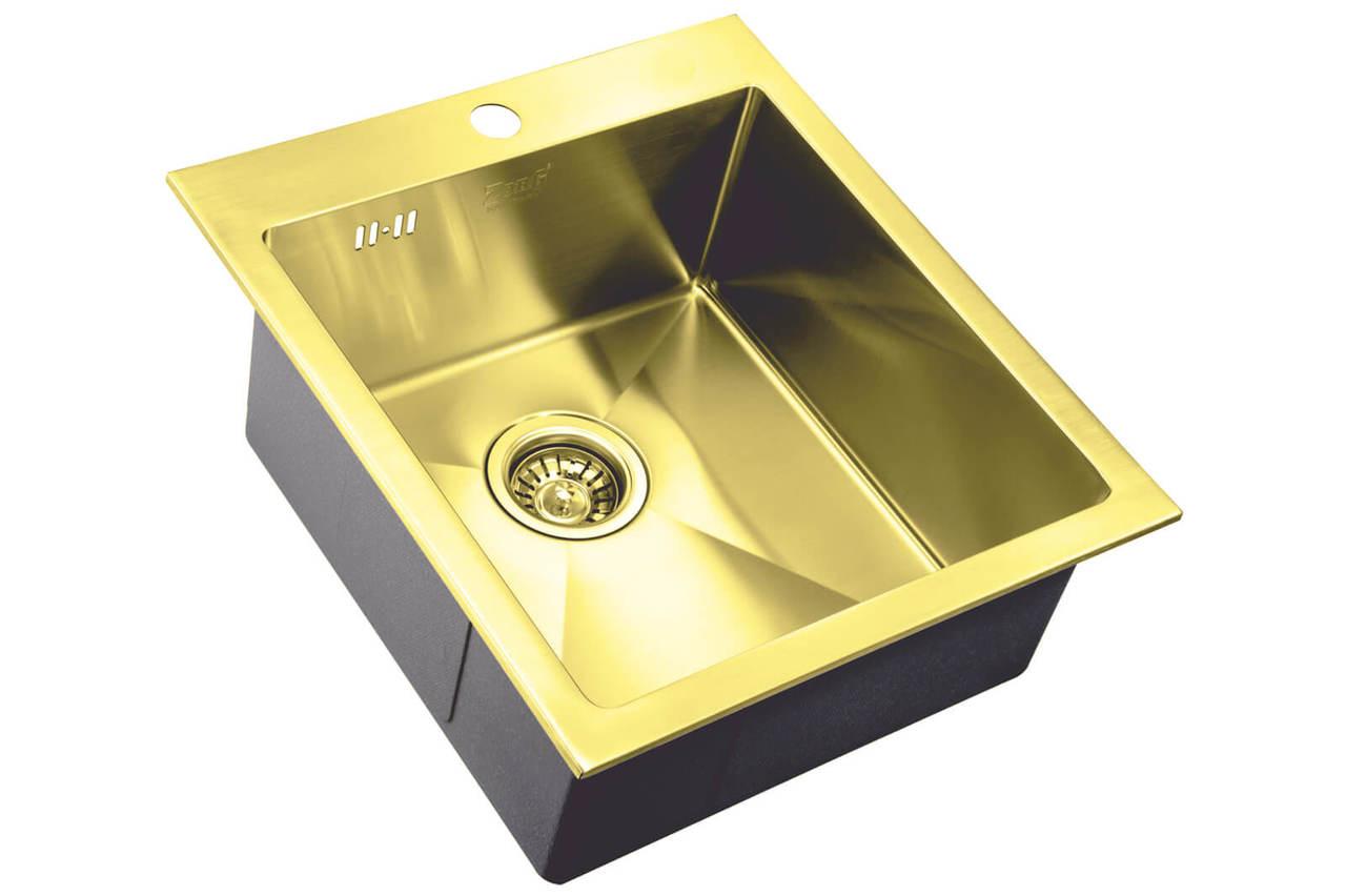 Кухонная мойка Zorg Inox Pvd SZR-4551 BRONZE