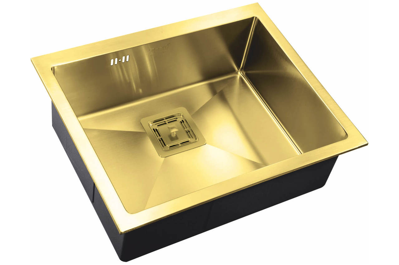 Кухонная мойка Zorg Inox Pvd SZR-5844 BRONZE