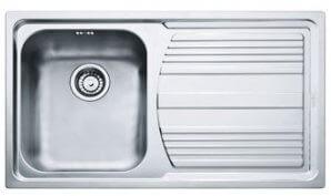 Кухонная мойка FRANKE LLX 611 сталь полированная