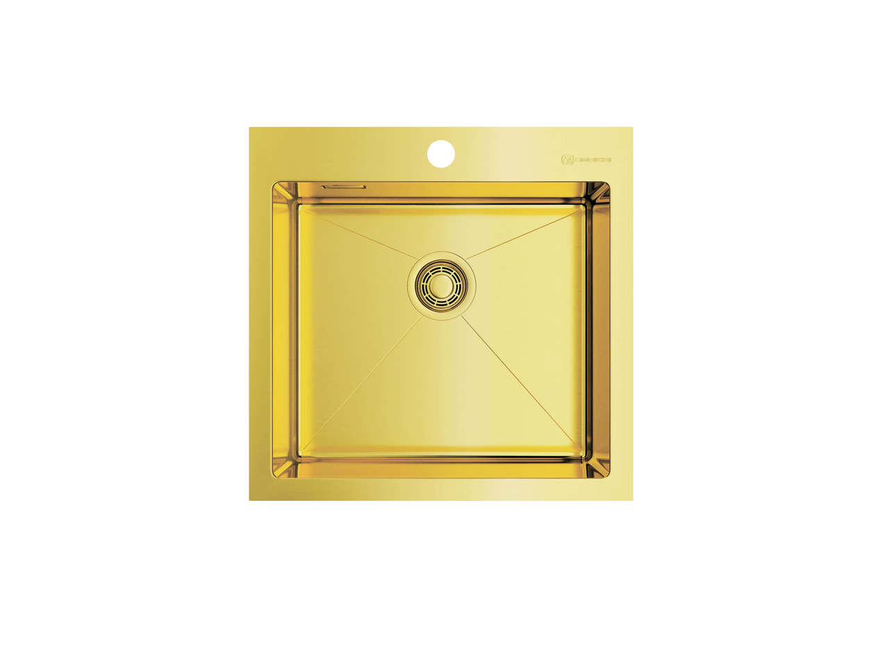 Кухонная мойка Omoikiri AKISAME 51-LG светлое золото