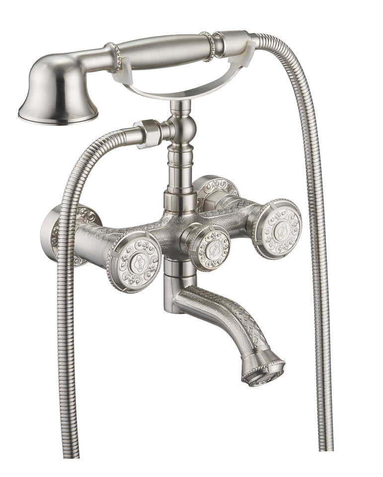 Смеситель Zorg Antic A 4000W-SL для ванны
