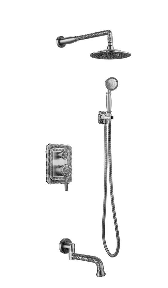 Душевая стойка Zorg Antic A 104DS-SL
