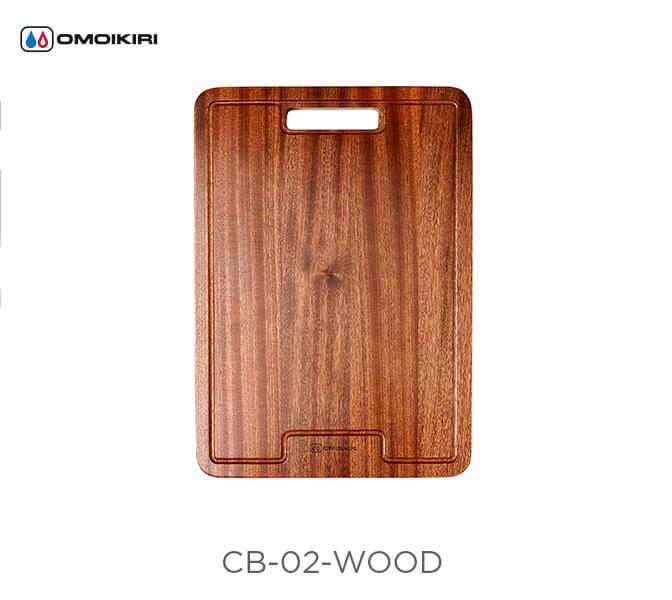 Разделочная доска OMOIKIRI CB-02-WOOD