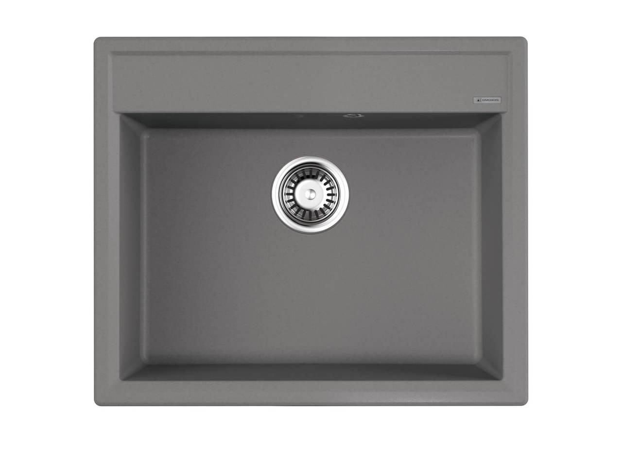 Кухонная мойка Omoikiri Daisen 60-GR Leningrad Grey