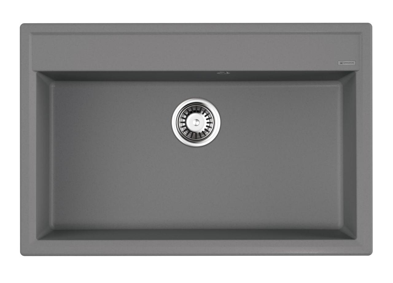 Кухонная мойка Omoikiri Daisen 77-GR Leningrad Grey