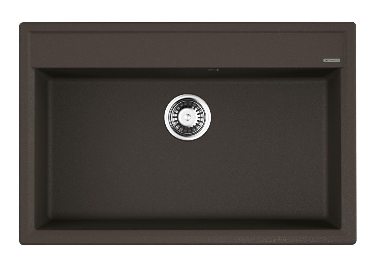 Кухонная мойка Omoikiri Daisen 77-DC темный шоколад