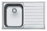 Кухонная мойка FRANKE AGX 611-78 сталь полированная