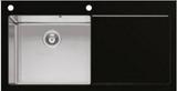 Мойка Imenza Charisma 100x53 1B 1D с черным стеклом