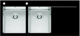 Мойка Imenza Charisma 116x52 2B 1D с черным стеклом