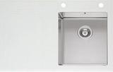 Мойка Imenza Charisma 100x53 1B 1D с белым стеклом