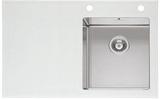 Мойка Imenza Charisma 86x53 1B 1D с белым стеклом