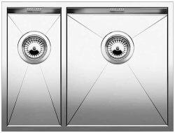 Кухонная мойка из нержавейки Blanco Zerox 340-180-U