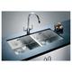 Кухонная мойка из нержавейки Blanco Zerox 400-400-U