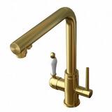 Комбинированный смеситель ZorG ZR 313 YF GOLD CLEAN WATER