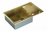 Кухонная мойка ZorG Sanitary INOX SZR-5080 BRONZE