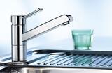 Смеситель для кухни Blanco Zenos поверхность нержавеющая сталь