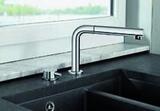 Смеситель для кухни Blanco Periscope-S-F монтаж под окно