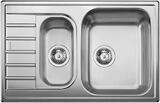 Кухонная мойка из нержавейки BLANCO LIVIT 6 S Compact