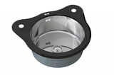 Стеклянная мойка ZorG Sanitary INOX Glass GL 510 BLACK