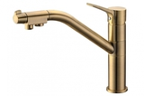 Комбинированный смеситель ZorG Sanitary ZR 401 KF-BR CLEAN WATER