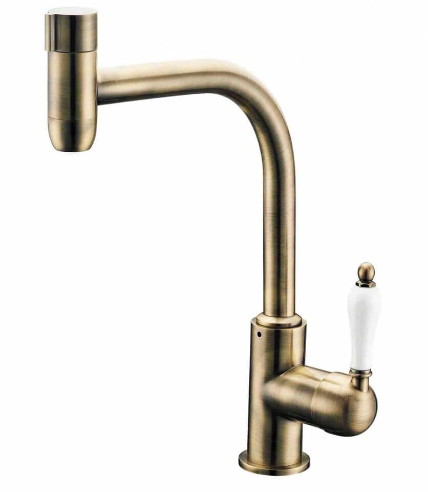 Комбинированный смеситель ZorG Sanitary ZR 323 YF-50 BR CLEAN WATER