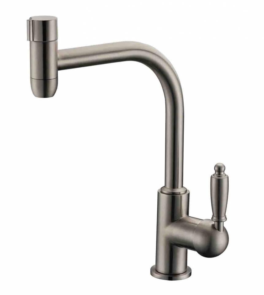 Комбинированный смеситель ZorG Sanitary ZR 323 YF-33 NICKEL CLEAN WATER