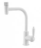 Комбинированный смеситель ZorG Sanitary ZR 323 YF-33 WHITE CLEAN WATER
