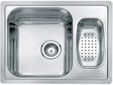 Кухонная мойка из нержавейки Reginox Admiral L 60 LUX