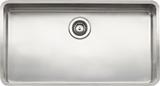 Кухонная мойка из нержавейки Reginox Kansas 80x42 L Large LUX