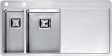Кухонная мойка из нержавейки Reginox Nevada 18x30 L LUX
