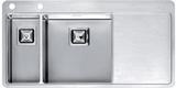 Кухонная мойка из нержавейки Reginox Nevada 18x40 L LUX