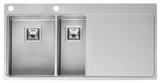 Кухонная мойка из нержавейки Reginox Nevada 30x18 L LUX