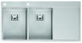 Кухонная мойка из нержавейки Reginox Nevada 30x30 L LUX