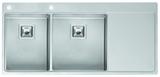 Кухонная мойка из нержавейки Reginox Nevada 30x40 L LUX