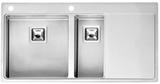 Кухонная мойка из нержавейки Reginox Nevada 40x18 L LUX