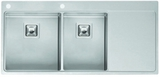 Кухонная мойка из нержавейки Reginox Nevada 40x30 L LUX
