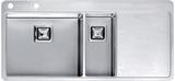 Кухонная мойка из нержавейки Reginox Nevada 50x18 L LUX