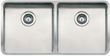 Кухонная мойка из нержавейки Reginox Ohio 40x40+40x40 L LUX
