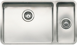 Кухонная мойка из нержавейки Reginox Ohio 50x40+18x40 L LUX