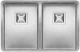 Кухонная мойка из нержавейки Reginox Texas 30x40+30x40 L LUX
