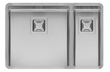Кухонная мойка из нержавейки Reginox Texas 40x40+18x40 L LUX
