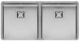 Кухонная мойка из нержавейки Reginox Texas 40x40+40x40 L LUX