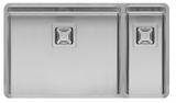 Кухонная мойка из нержавейки Reginox Texas 50x40+18x40 L LUX