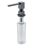 Дозатор жидкого мыла ZorG INOX ZR-22 BLACK
