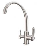 Комбинированный смеситель ZorG Sanitary ZR 330 YF-33 SATIN CLEAN WATER